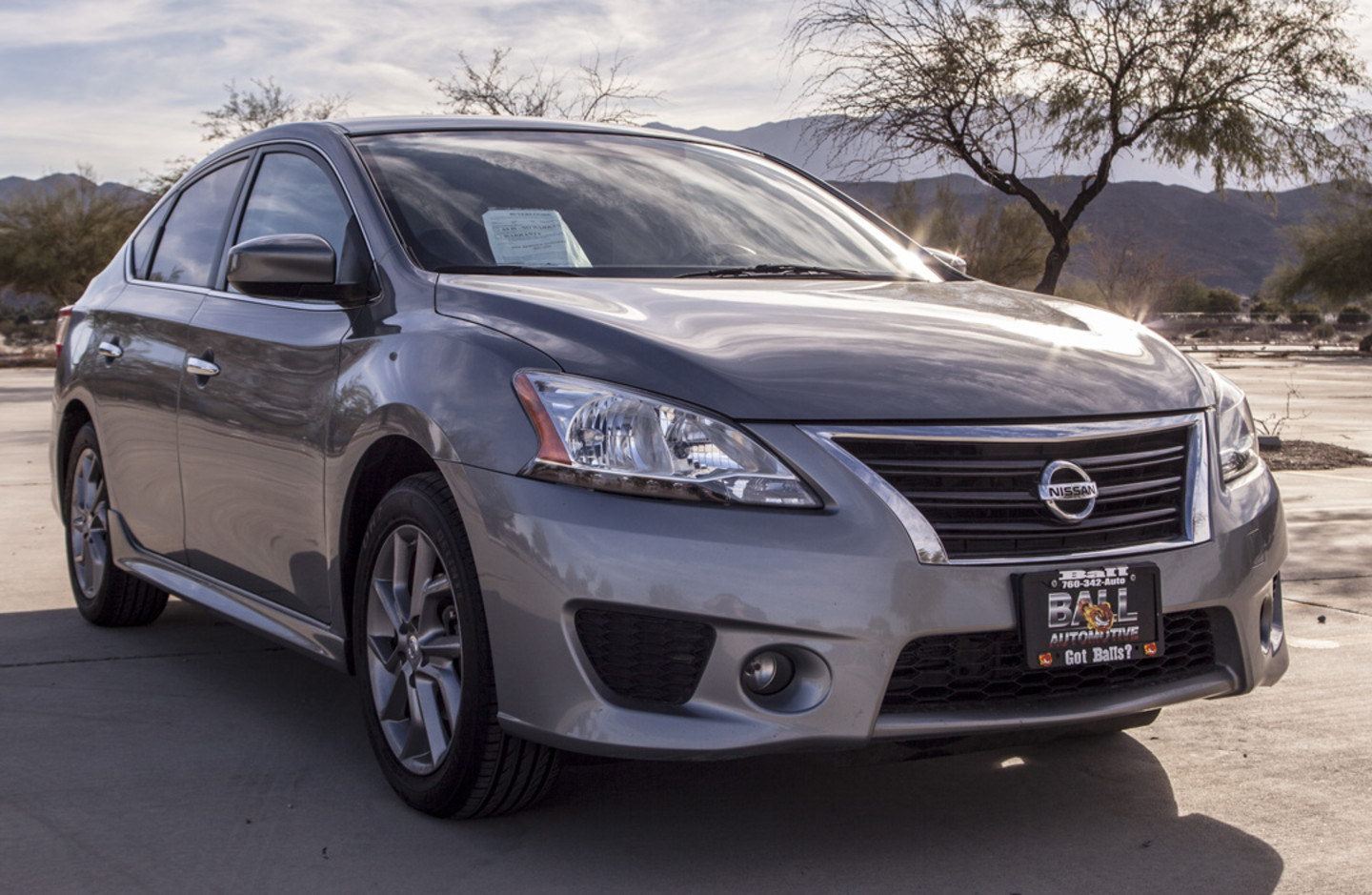 2014 nissan sentra sr city ca ball automotive. Black Bedroom Furniture Sets. Home Design Ideas