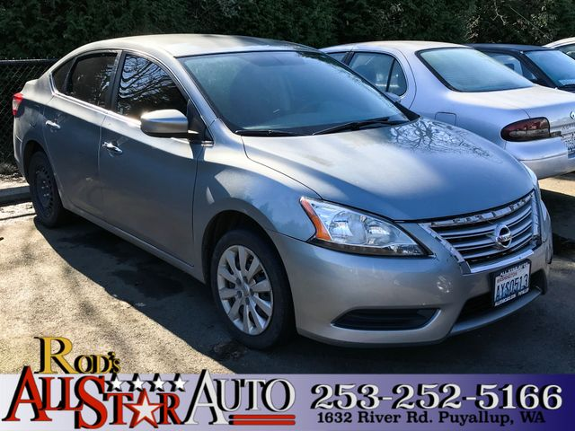 2014 Nissan Sentra S The CARFAX Buy Back Guarantee that comes with this vehicle means that you can