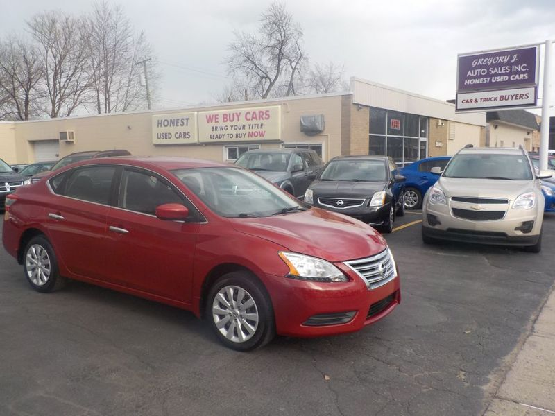 Gregory J Home Design Center Part - 45: 2014 Nissan Sentra S | Roseville, MI | Gregory J Auto Sales Inc. In