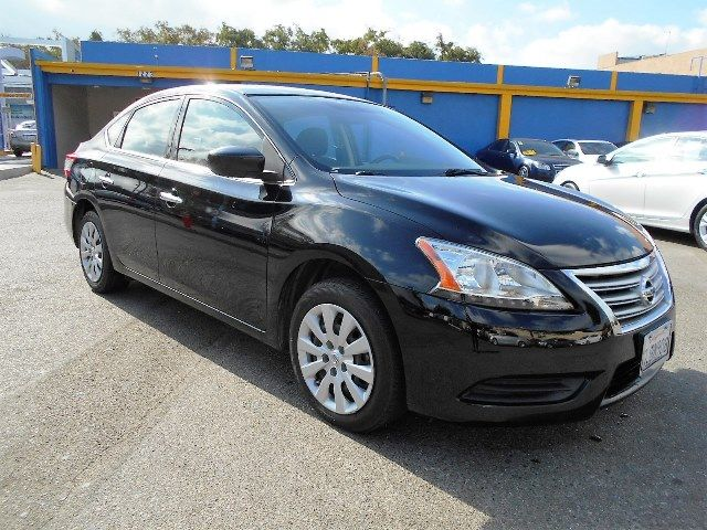 2014 Nissan Sentra S Limited warranty included to assure your worry-free purchase AutoCheck repor