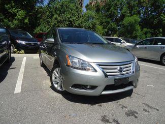 2014 Nissan Sentra SL. LEATHER. NAVI. CAMERA. PUSH START SEFFNER, Florida 6