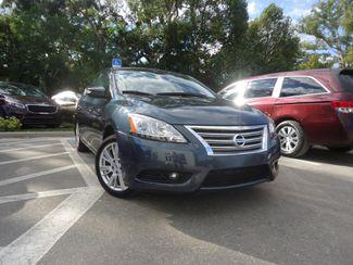 2014 Nissan Sentra SL NAVIGATION. LEATHER. CAMERA. HTD SEATS SEFFNER, Florida 6