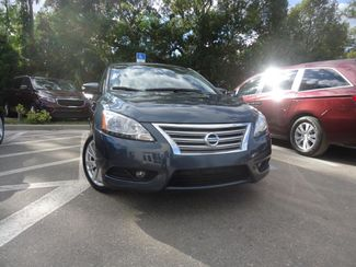 2014 Nissan Sentra SL NAVIGATION. LEATHER. CAMERA. HTD SEATS SEFFNER, Florida 7