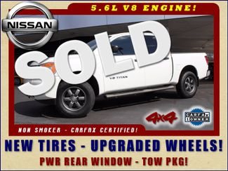 2014 Nissan Titan Crew Cab 4x4 - UPGRADED WHEELS - NEW TIRES! Mooresville , NC