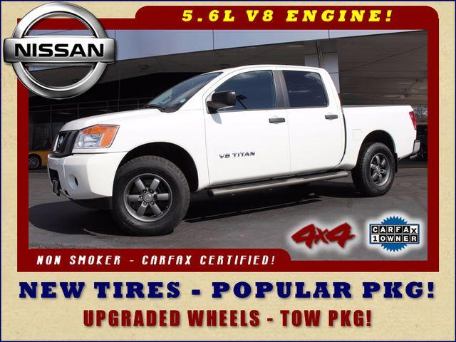2014 Nissan Titan Crew Cab 4x4 - POPULAR PKG! - NEW TIRES! Mooresville , NC 0