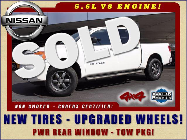2014 Nissan Titan Crew Cab 4x4 - UPGRADED WHEELS - NEW TIRES! Mooresville , NC 0