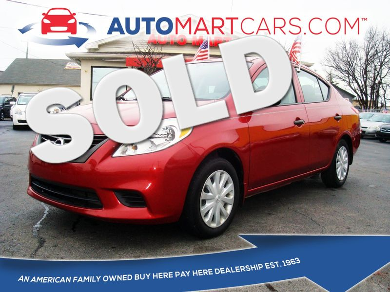 2014 Nissan Versa S Plus | Nashville, Tennessee | Auto Mart Used Cars Inc. in Nashville Tennessee
