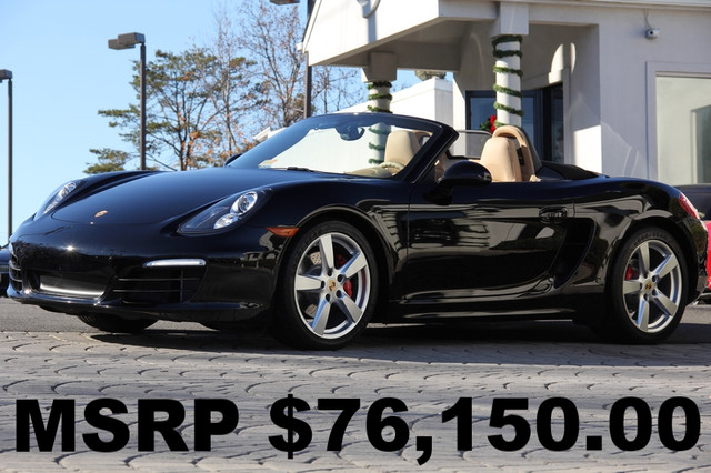 2014 PORSCHE Boxster S 2dr Convertible AMFM CD Player Anti-Theft AC Cruise Power Locks Power