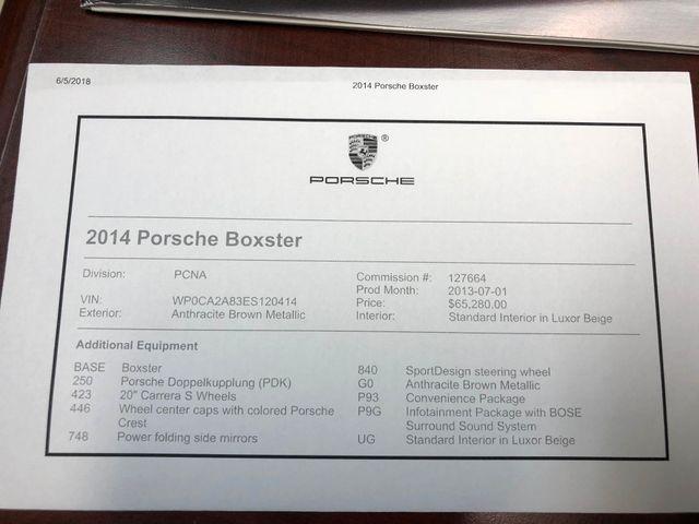 2014 Porsche Boxster Longwood, FL 43