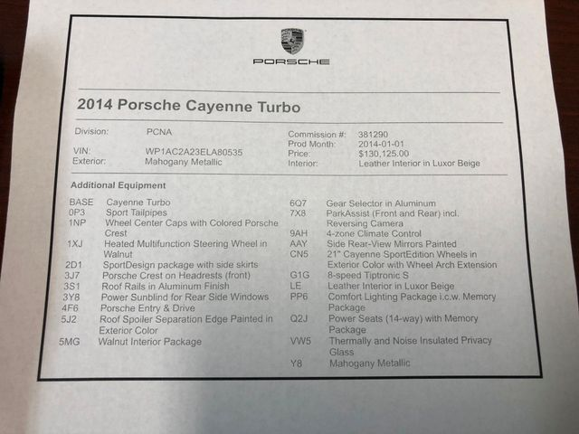 2014 Porsche Cayenne Turbo Longwood, FL 47