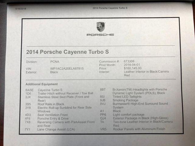 2014 Porsche Cayenne Turbo S Longwood, FL 51