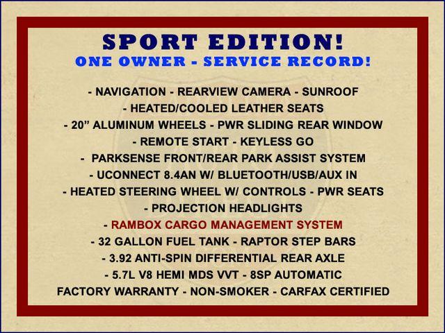 2014 Ram 1500 Sport Crew Cab RWD - NAVIGATION - SUNROOF! Mooresville , NC 1