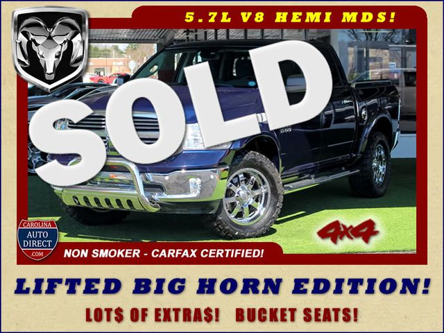 2014 Ram 1500 Big Horn Crew Cab 4x4 - LIFTED - LOT$ OF EXTRA$! Mooresville , NC 0
