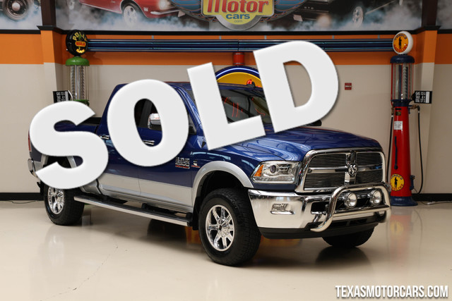 2014 Ram 2500 Laramie 4x4 This 2014 Ram 2500 Laramie is in great shape with only 25 495 miles Th