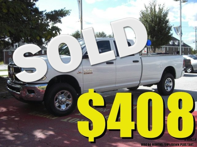 2014 Ram 2500 Tradesman SUPER NICE WORTH THE DRIVE LOW MILES53 000 MILES VIN 3C6UR5HL6EG20243