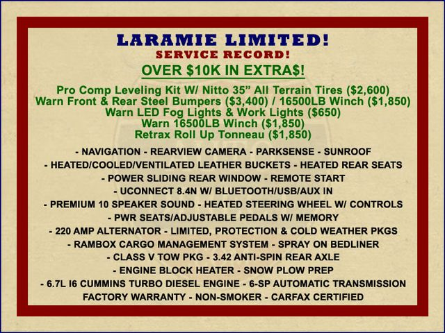 2014 Ram 2500 Laramie Limited Mega Cab 4X4 - $10K IN EXTRA$! Mooresville , NC 1
