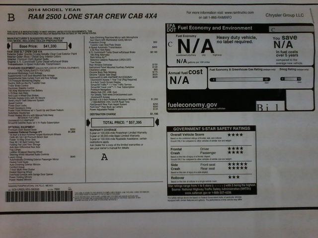 2014 Ram 2500 Lone Star 4x4 Diesel San Antonio, Texas 38