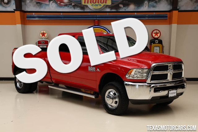 2014 Ram 3500 Tradesman This Carfax 1-Owner 2014 Ram 3500 Tradesman is in great shape with only 66