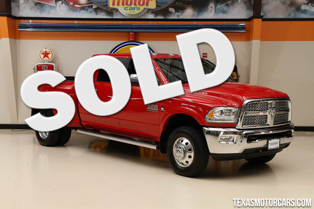 2014 Ram 3500 Laramie This Carfax 1-Owner 2014 Ram 3500 Laramie is in great shape with only 83 34