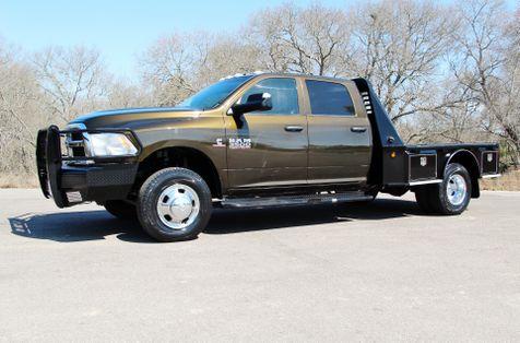2014 Ram 3500 Tradesman - 4x4 - FLATBED - HAY SPIKE in Liberty Hill , TX