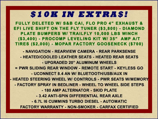 2014 Ram 3500 Laramie Crew Cab 4x4 - $10K IN EXTRA$! Mooresville , NC 1