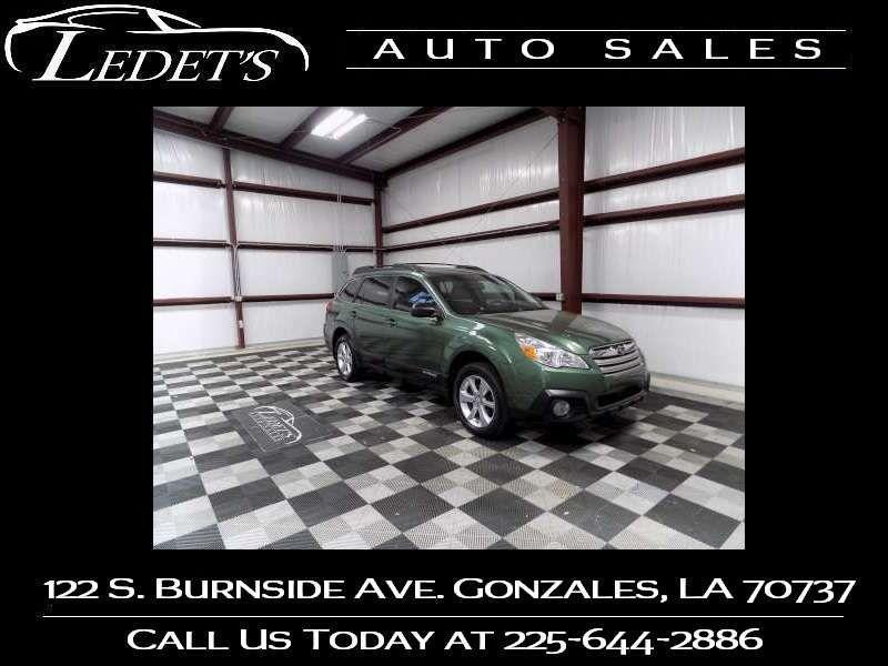 2014 Subaru Outback 2.5i - Ledet's Auto Sales Gonzales_state_zip in Gonzales Louisiana