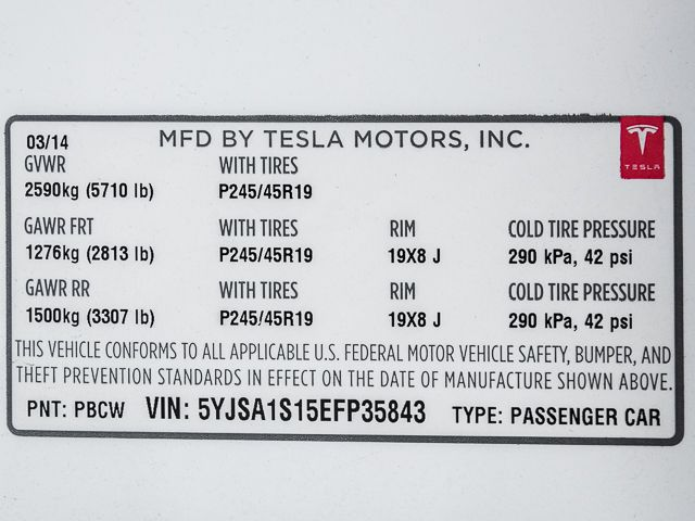 2014 Tesla Model S 60 kWh Battery Burbank, CA 26