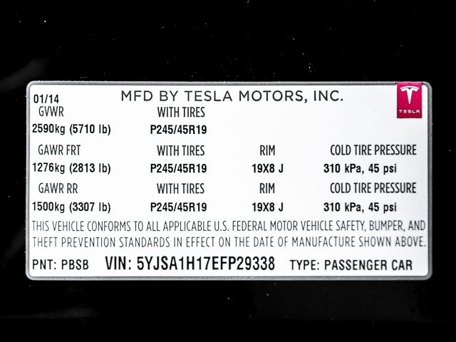 2014 Tesla Model S Performance Burbank, CA 27