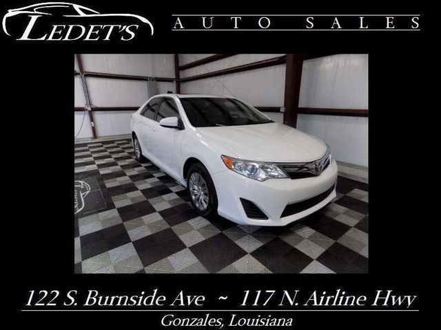 2014 Toyota Camry LE - Ledet's Auto Sales Gonzales_state_zip in Gonzales Louisiana