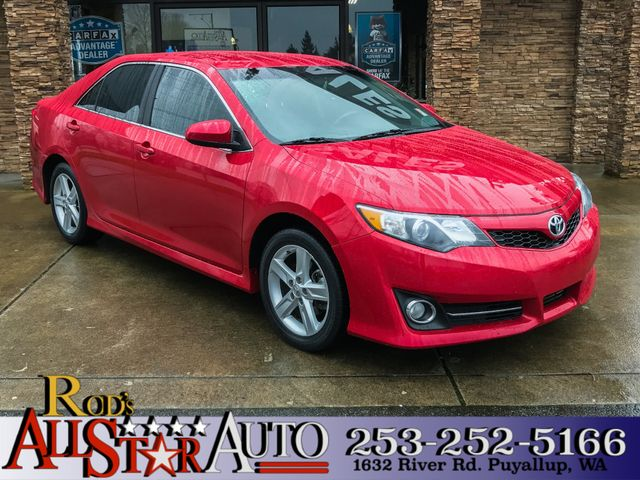 2014 Toyota Camry SE Sport The CARFAX Buy Back Guarantee that comes with this vehicle means that y