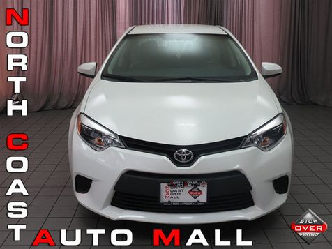 2014 Toyota Corolla 4dr Sedan CVT LE ECO in Akron, OH