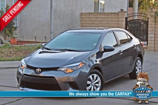 2014 Toyota COROLLA LE SEDAN AUTOMATIC  BACK-UP XLNT CONDITION SERVICE RECORDS! Woodland Hills, CA