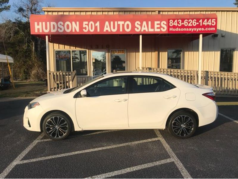 2014 Toyota Corolla S CVT | Myrtle Beach, South Carolina | Hudson Auto Sales in Myrtle Beach South Carolina