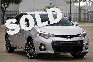 2014 Toyota Corolla S Plus * 1-OWNER * Sunroof * BLUETOOTH *Blk Wheels Plano, Texas