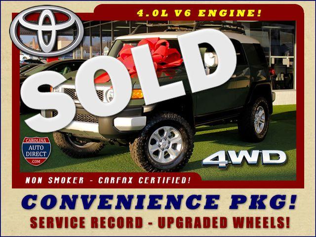 2014 Toyota FJ Cruiser 4WD - CONVENIENCE PKG! Mooresville , NC 0