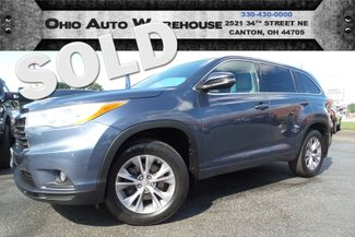 2014 Toyota Highlander LE AWD 3rd Row 1-Own Cln Carfax We Finance | Canton, Ohio | Ohio Auto Warehouse LLC in  Ohio