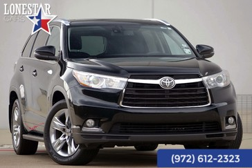 2014 Toyota Highlander Limited in Plano