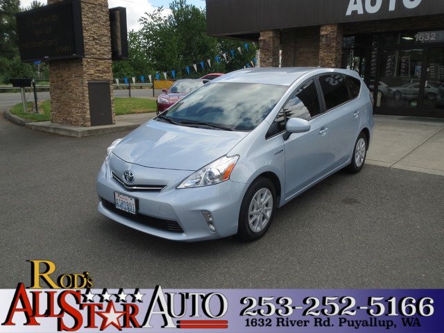 2014 Toyota Prius v Two The CARFAX Buy Back Guarantee that comes with this vehicle means that you