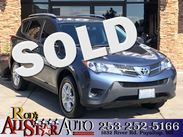 2014 Toyota RAV4 LE This vehicle is a CarFax certified one-owner used car Pre-owned vehicles can