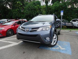 2014 Toyota RAV4 Limited. NAVI. LTHR. SUNRF. PUSH STRT SEFFNER, Florida