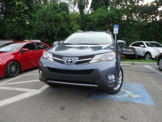 2014 Toyota RAV4 Limited. NAVI. LTHR. SUNRF. PUSH STRT SEFFNER, Florida 7