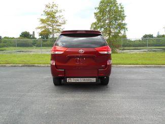2014 Toyota Sienna Limited Xle Handicap Van Pinellas Park, Florida 4