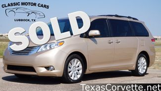 2014 Toyota Sienna in Lubbock Texas