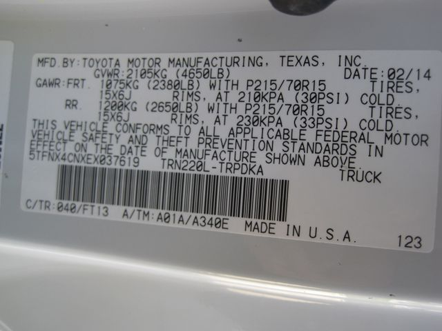 2014 Toyota Tacoma Reg Cab Automatic, 1 Owner, X/Nice, Must See Plano, Texas 24
