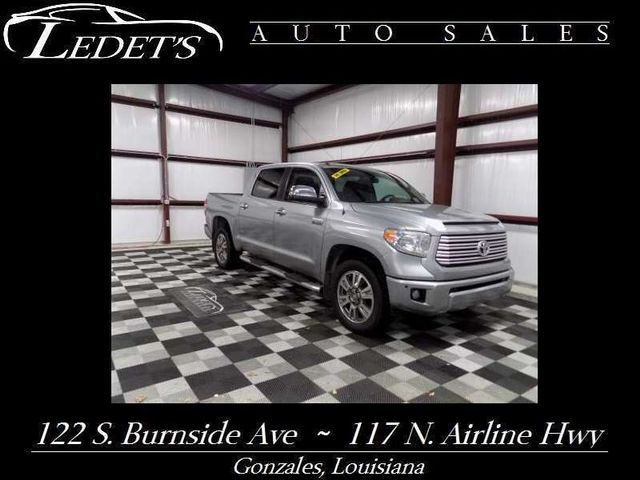 2014 Toyota Tundra Platinum - Ledet's Auto Sales Gonzales_state_zip in Gonzales Louisiana