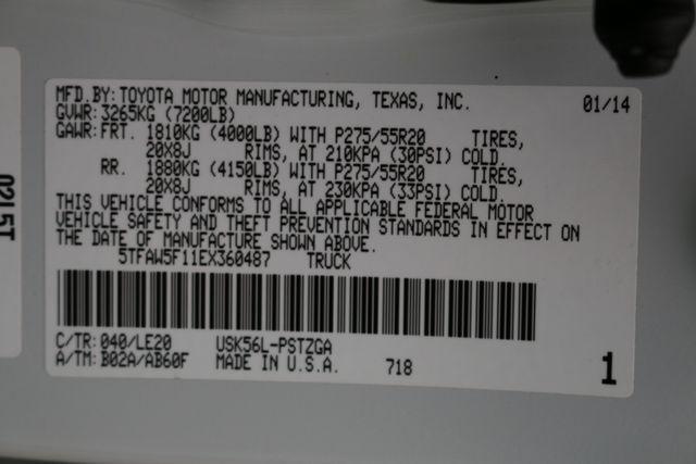 2014 Toyota Tundra Platinum Crew Max 4x4 Mooresville, North Carolina 100