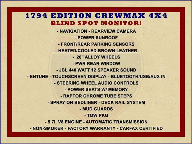 2014 Toyota Tundra 1794 CrewMax 4x4 - NAV - SUNROOF - BLIND SPOT! Mooresville , NC 1