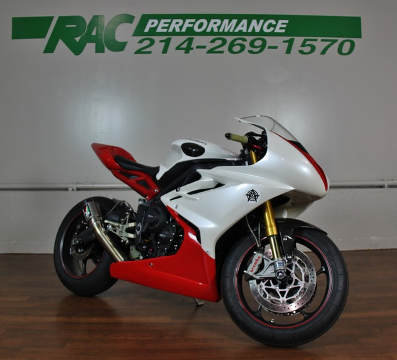 2014 Triumph Daytona 675R With ABS in Carrollton, TX