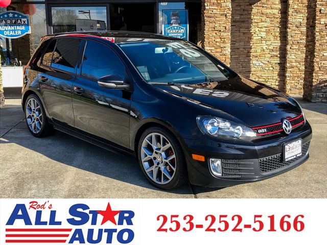 2014 Volkswagen GTI Wolfsburg This vehicle is a CarFax certified one-owner used car Pre-owned veh