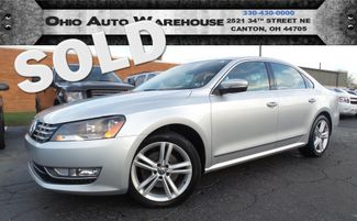 2014 Volkswagen Passat SEL Turbo Navi Sunroof 1-Own We Finance | Canton, Ohio | Ohio Auto Warehouse LLC in  Ohio